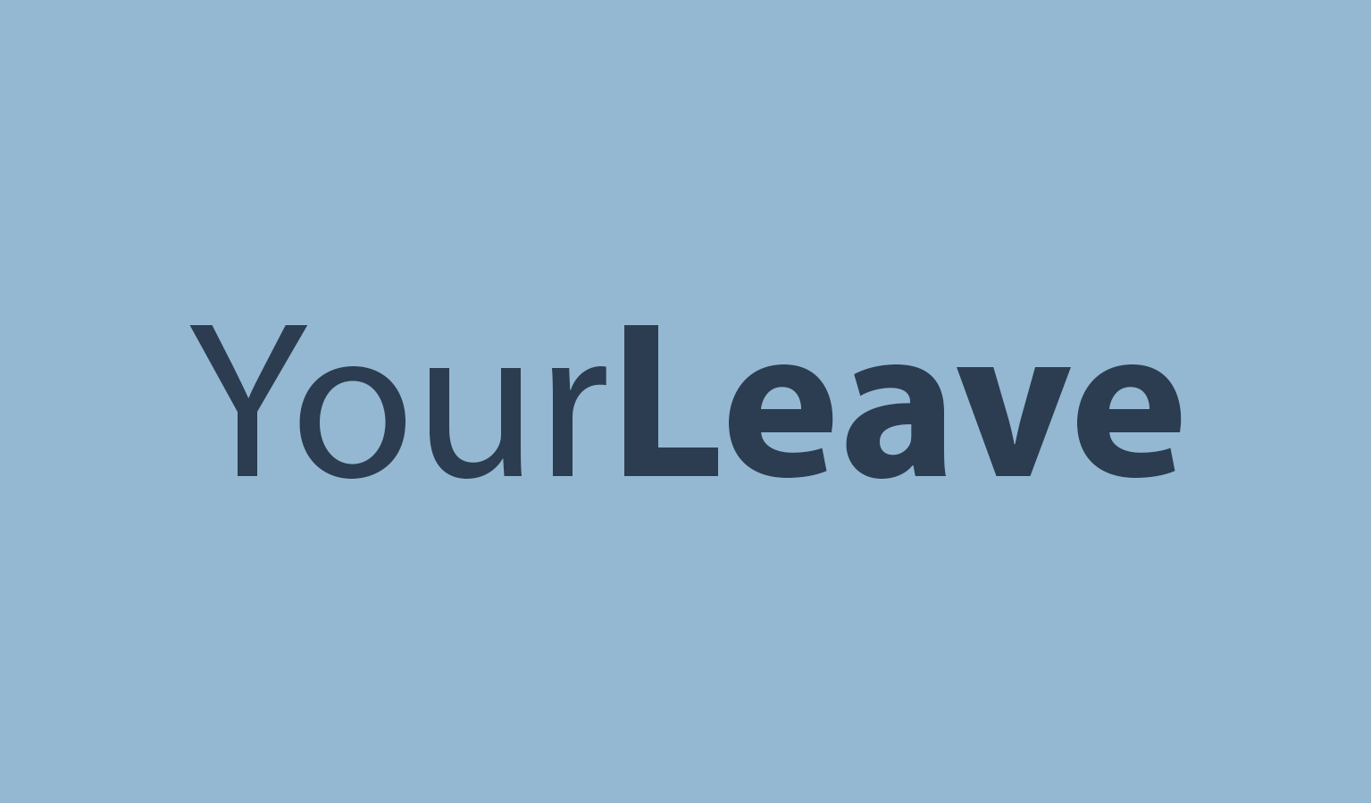 Image of the YourLeave logo